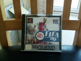 Fifa 99 classic Playstation game
