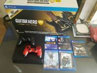 slim ps4 500gb additional controller and games
