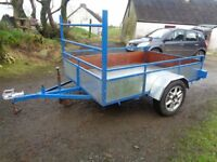 7ft x 5ft TRAILER EXCELLENT CONDITION £460 O.N.O.