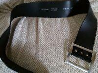 Black leather belt.....just £1.50