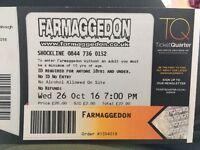 Farmageddon ticket