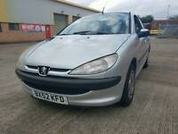 Peugeot 206 very low mileage full service history