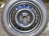 """VAUXHALL/OPEL ASTRA G WHEEL and TYRE LOOKS LIKE NEW 15"""" 195/60X15"""