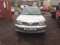 NISSAN MICRA 2001 LOW MILEAGE BARGAIN!