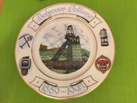 BOLSOVER COLLIERY 1889-1993 plate