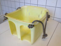 Yellow bucket swing, £5.00