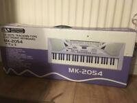 Teaching electronic keyboard