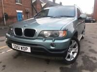 BMW X5 - automatic - 3.0 litre diesel - Hpi clear - strong service history - one year mot