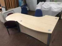 Office Reception Desk (Separates in 2 parts)