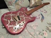 Lucky Seven Custom Telecaster Guitar, not FENDER SQUIER GIBSON GRETSCH PRS IBANEZ CHARVEL JACKSON