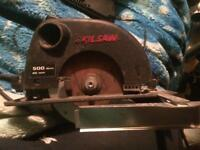 For sale a skilsaw 500 watts 40mm