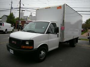 2015 GMC Savana 16' GAS CUBE