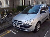 Hyundai Getz 1.1 petrol, manual