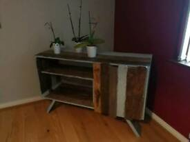 Handmade Rustic sideboard . Solid wood. Distressed look. Furniture,home,decor, handmade