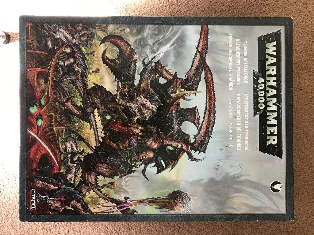 Warhammer Tyranid Battle Force X2 In Markinch Fife Gumtree