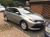 PCO REGISTERED   UBER READY   NEARLY NEW 2016 TOYOTA AURIS TOURING SPORTS