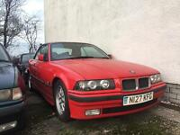 [Simmons BMW] BMW E36 3 series 328i Convertible BREAKING for Spares Parts Hellrot Red