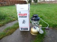 New Tilley Lamp complete in original box