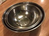 Set of 4 mixing bowls
