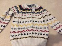 Men's handmade knitted jumper