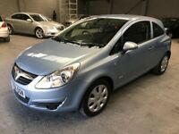 Vauxhall Corsa 1.2 2008 Club *Low Miles* *FSH* *FULL MOT*