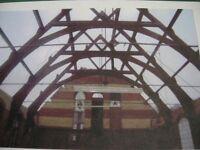 Timber Frame Barn/Church/House