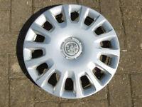 Vauxhall Corsa wheel trim.
