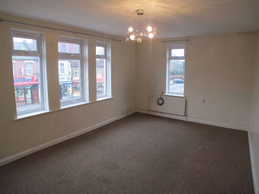 THREE DOUBLE BEDROOM FIRST FLOOR FLAT LOCATED IN LLOYD PARK.