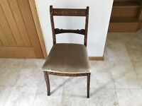 Attractive inlaid chair for sale