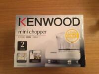 Brand New Unused Kenwood Mini Chopper