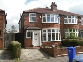 3 bed semi-detached house - FAIRHOLME ROAD - Withington - Academic Year 2017/18