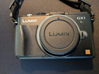 Panasonic DMC-GX1 Boxed with Pancake Lens + Accessories