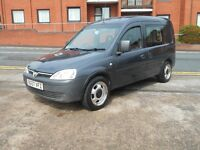 57 VAUXHALL COMBO 1.7 CDTI 1700 + MULTI PURPOSE +