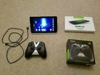 Nvidia Shield K1 Gaming tablet with hdmi + wireless controller