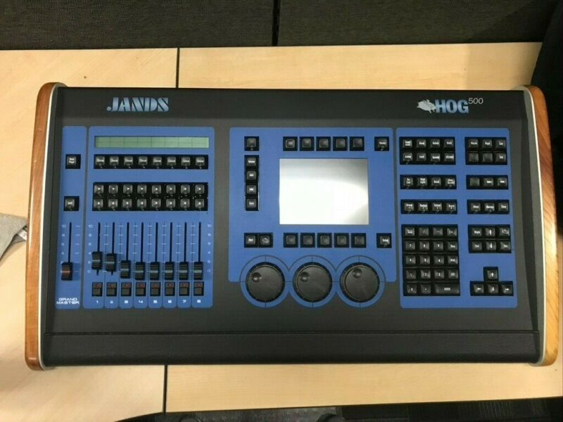 Jands Hog 500 Lighting Console w/ Cover -- FREE SHIPPING