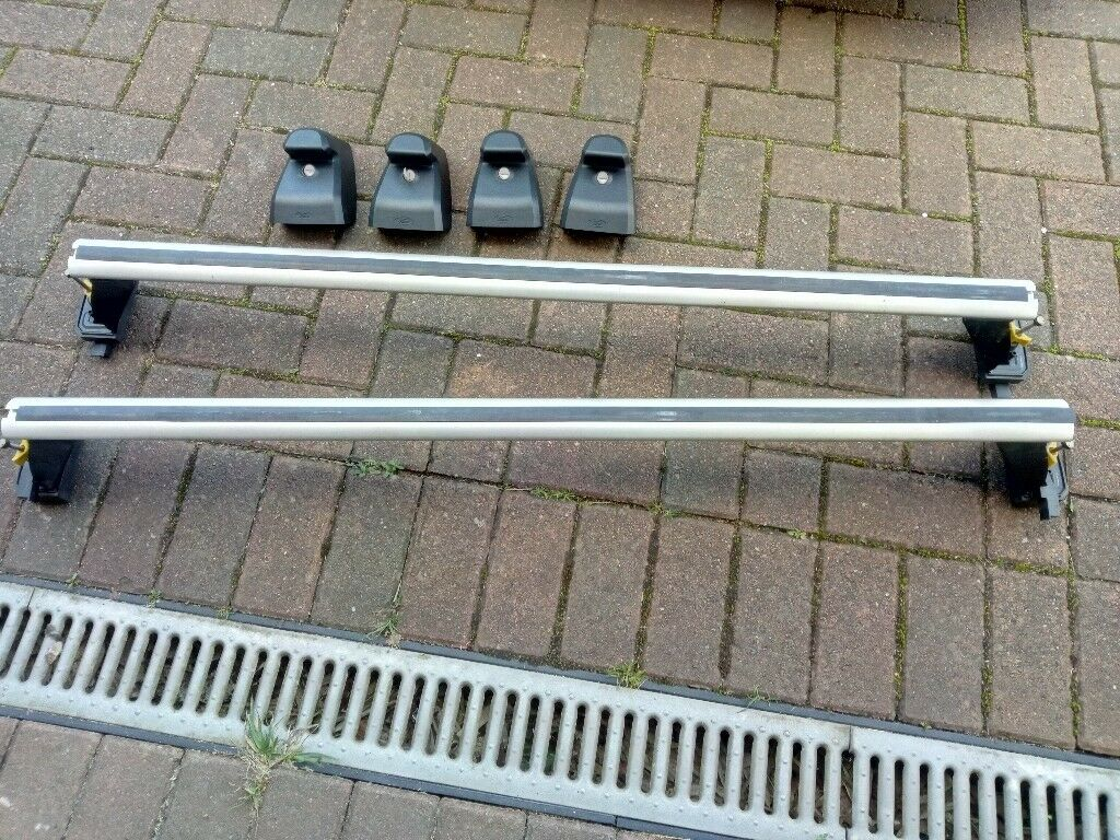 genuine ford smax roof bars for panoramic roof