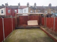 1 bed flat in edmonton (With its own private garden)