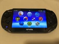 Sony PS Vita Wi-Fi & 3G, 8GB memory card and charger