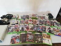 Xbox 360 Kinect 2 pads headset and 40 games