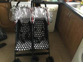 Obaby crossfire double buggy