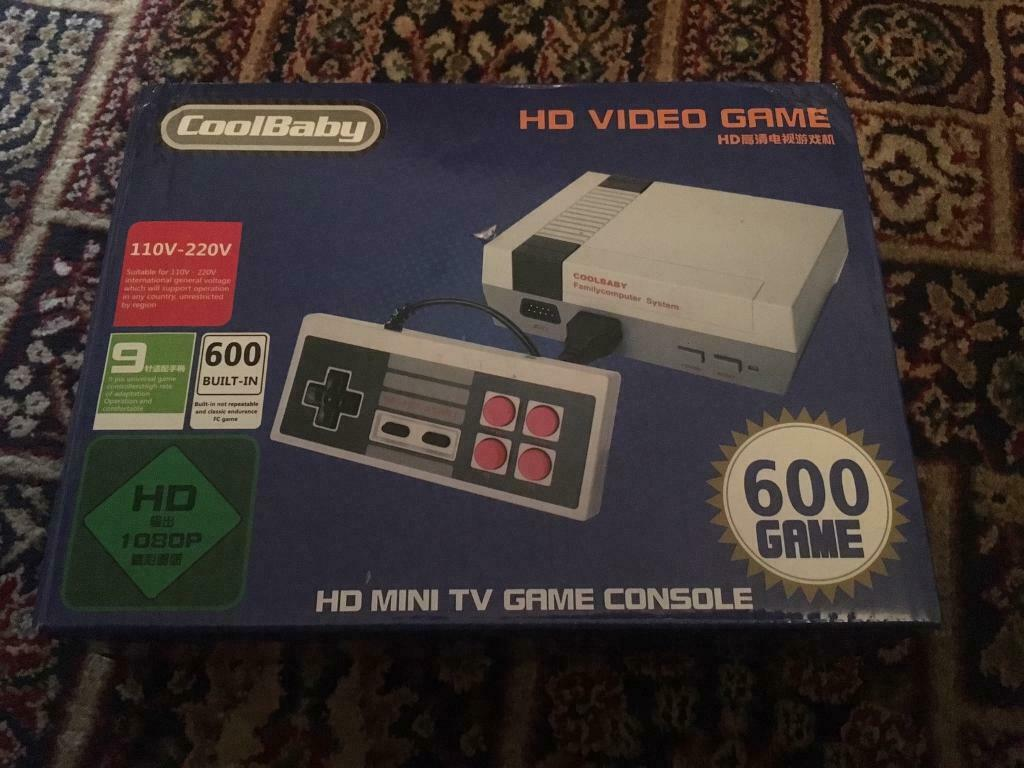 Brand New Retro Mini Games Console HD and 600 games ( SNES Copy ) | in  Bradford, West Yorkshire | Gumtree
