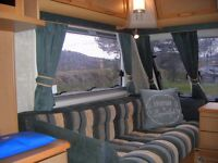 Spacious 4 Berth Abbey Vogue 416 GTS with Full Sized Awning .