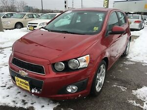 2012 Chevrolet Sonic LT, Automatic