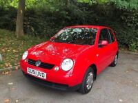 """VOLKSWAGEN LUPO 1.7 SDI 3DR RED 2002 """"12 MONTHS MOT+LOW MILES"""""""