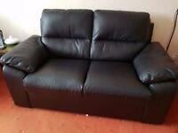 2 SeaterLeather sofa