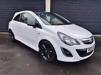 2013 VAUXHALL CORSA 1.2 LIMITED EDITION 3 DOOR NOT ASTRA CLIO FIESTA 207 208 MINI IBIZA VW POLO DS3