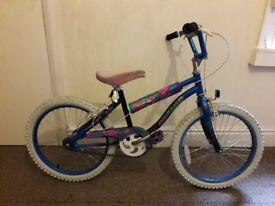 """girls cosmo 20"""" wheel bicycle"""