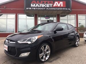 2012 Hyundai Veloster Tech (M6), ALLOYS, SUNROOF, WE APPROVE ALL