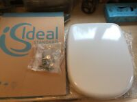Soft Close White Ideal Toilet Seat