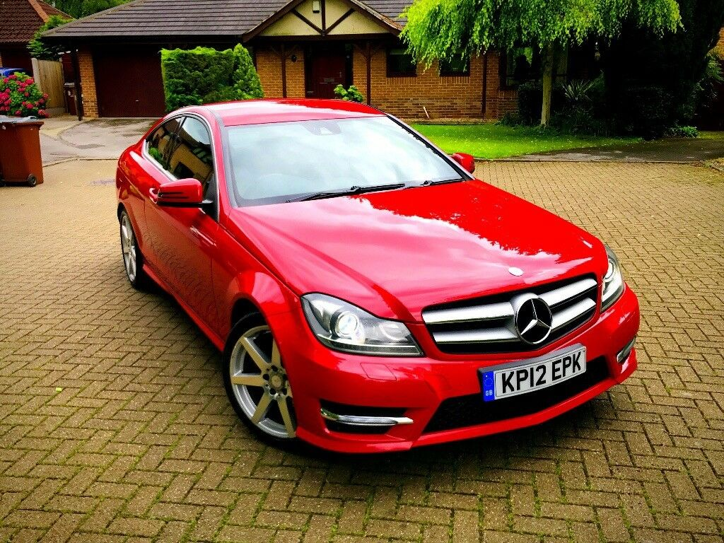 Mercedes-Benz AMG C Class Coupe 1.6 C180 BE 2012 Automatic ...